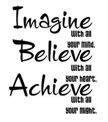 Imagine with all your mind